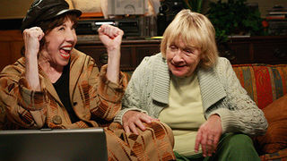 Lily Tomlin and Kathryn Joosten
